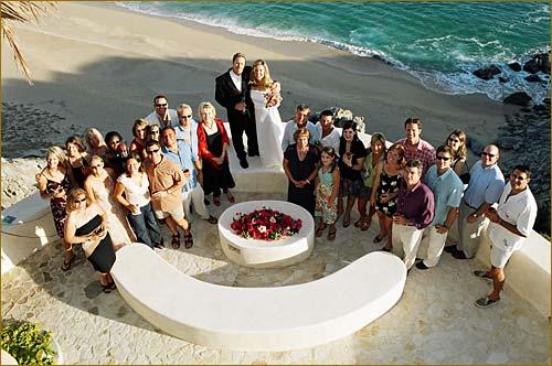 cabo wedding on the beach